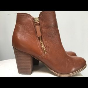 Aldo Shoes - Aldo Leather Emely Boots Size US 6.5 in Cognac